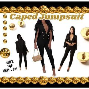 Pants - 🔥SALE🛍  Jumpsuit w/cape